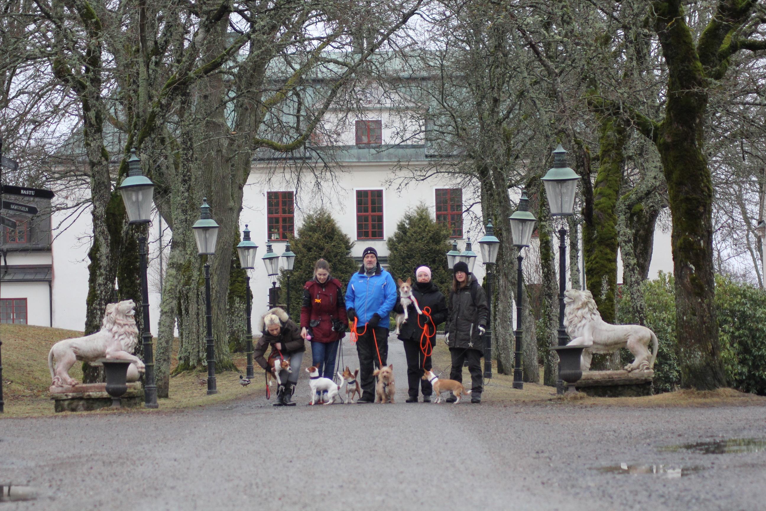 Promenad runt Häringe slott
